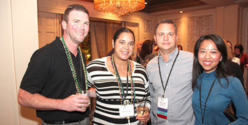 Why are there so many smiling faces at CLCA events?