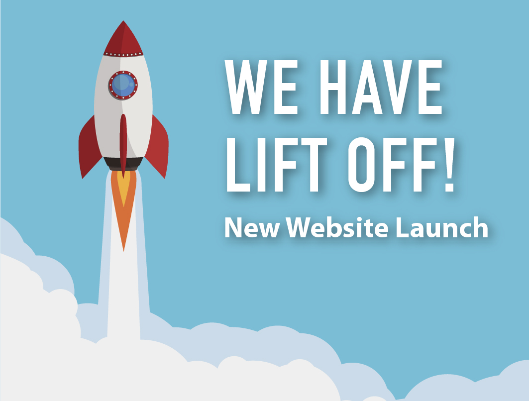 We have lift off! New website is launched.
