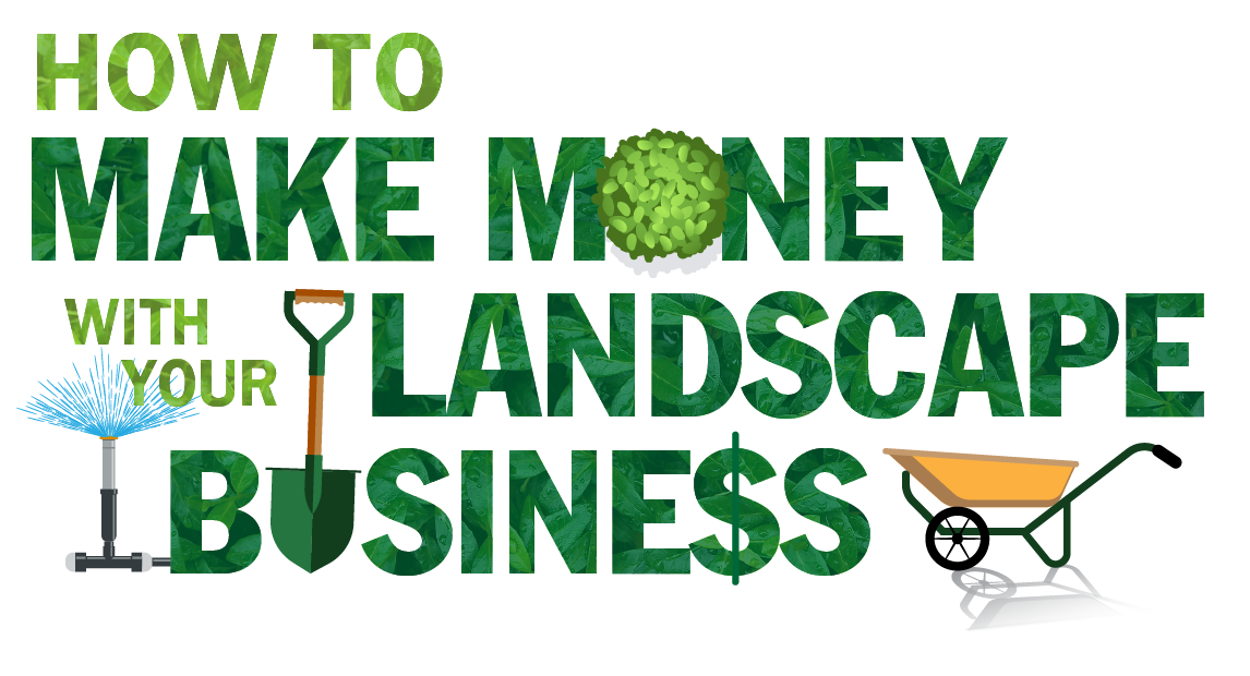 logo for HTMM program, How To Make Money With Your Landscape Business